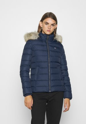 BASIC HOODED JACKET - Doudoune - twilight navy