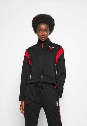 NBA CHICAGO BULLS COACH JACKET - Klubové oblečení - university red/black