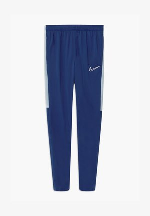 DRY - Tracksuit bottoms - deep royal blue/light armory blue/white