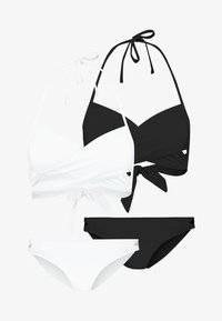 Anna Field - 2 PACK - Bikini - black/white - 5