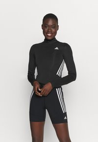 adidas Performance - LEOTARD - Body sportivo - black/white - 0