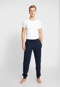 Schiesser - BASIC - Pyjamahousut/-shortsit - dark blue - 1