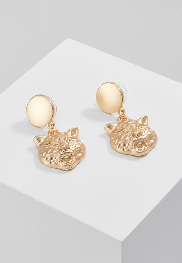 TIGERHEAD - Boucles d'oreilles - gold-coloured