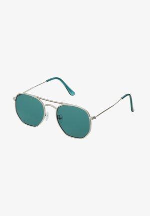 TOP BAR - Lunettes de soleil - turquoise