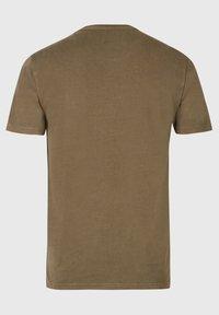 AllSaints - OSSAGE  - Basic T-shirt - dark green - 3