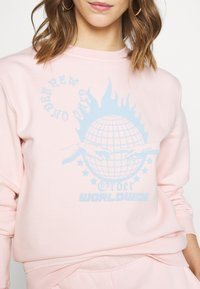 NEW girl ORDER - WORLDWIDE SWEAT CO-ORD - Bluza - pink - 5