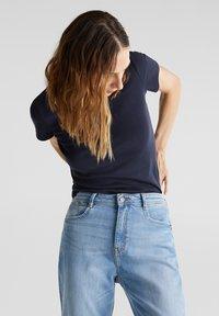 Esprit - NOOS CORE OCS  - Print T-shirt - navy - 3