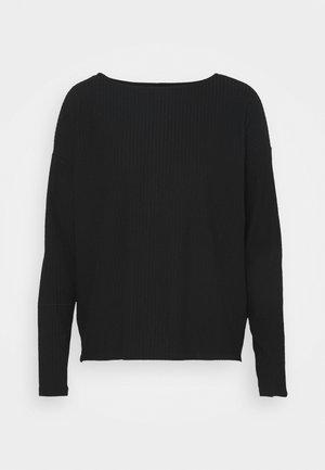 ONLNELLA BOXY - Pitkähihainen paita - black