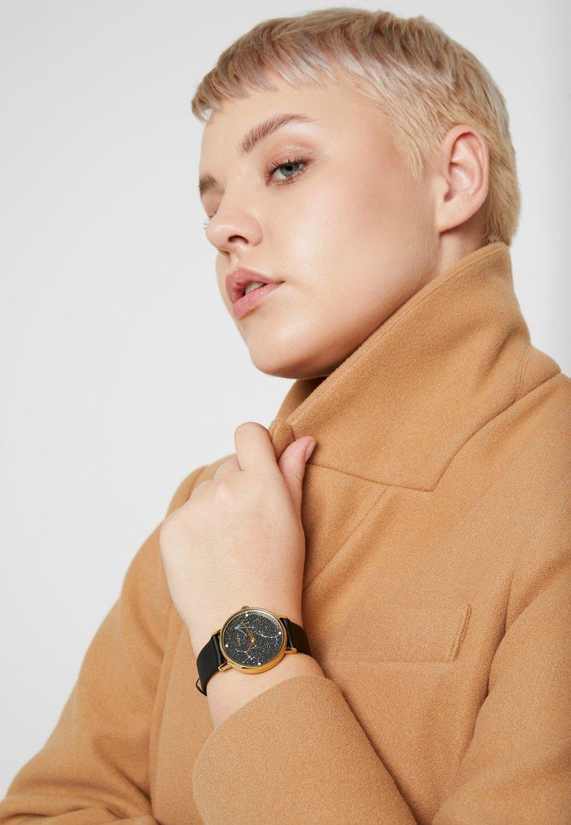 Timex - WOMEN'S CELESTRIAL OPULENCE WITH SWAROVSKI BLACK DIAL - Klokke - black