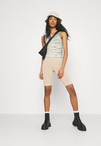 Weekday - STELLA PRINTED TANK - Toppe - dusty green/off-white - 1