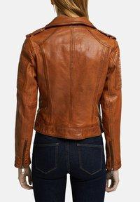 Esprit - Leather jacket - toffee - 6