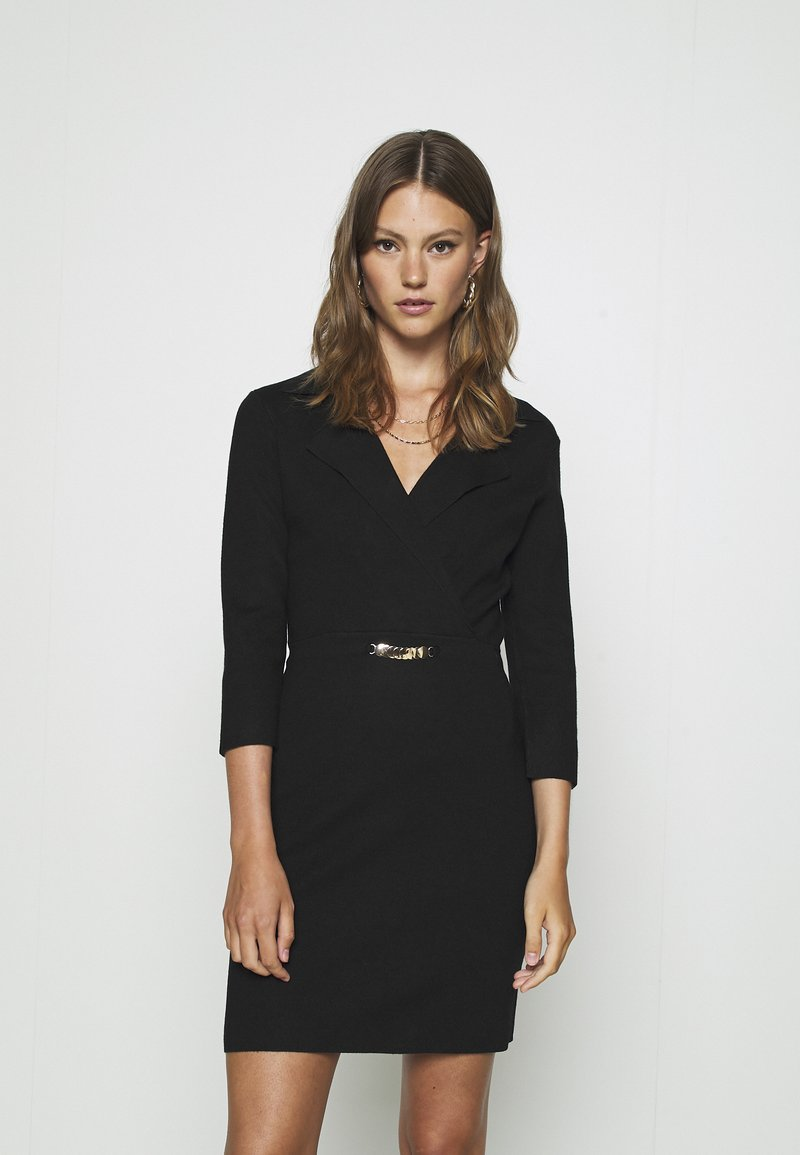 Morgan - Jumper dress - noir