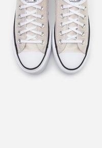 Converse - CHUCK TAYLOR ALL STAR LIFT - Joggesko - silver/black/white - 5