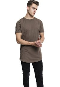 Urban Classics - SHAPED LONG TEE DO NOT USE - T-shirt - bas - army green - 1