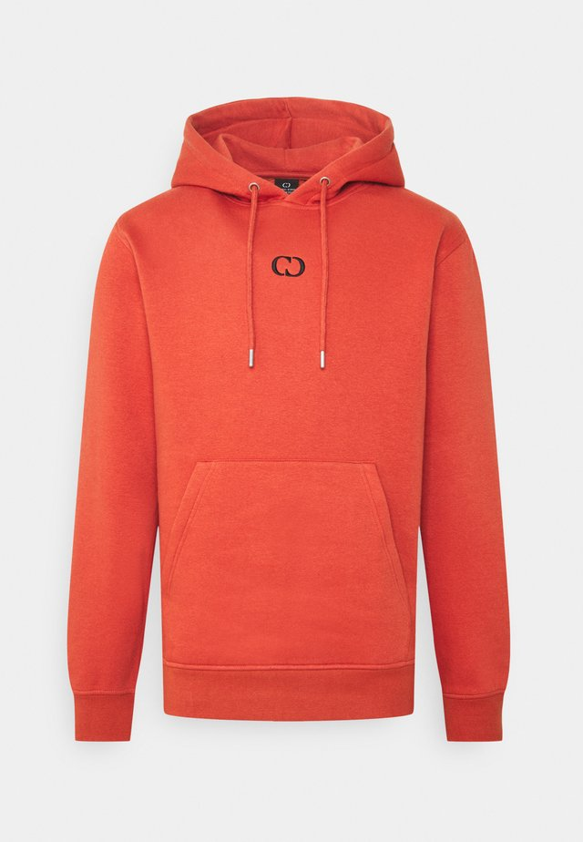 ECO HOOD - Kapuzenpullover - orange