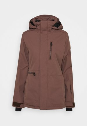 SHELTER STRETCH JACKET - Kurtka snowboardowa - rose wood