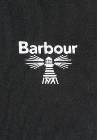 Barbour Beacon - SMALL LOGO TEE - T-shirt - bas - black - 2