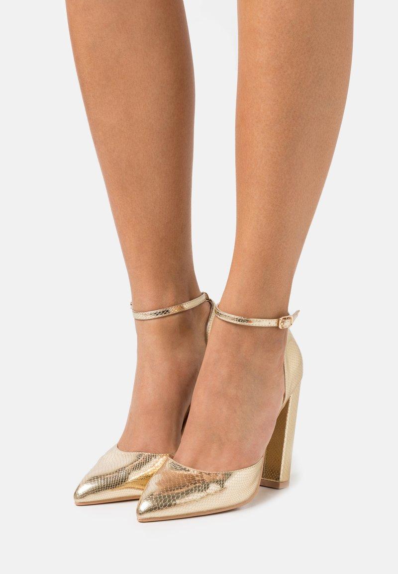 RAID - MAHI - High heels - gold