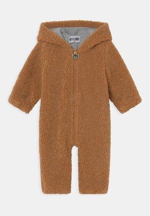 BABYGROW UNISEX - Jumpsuit - marrone orsetto