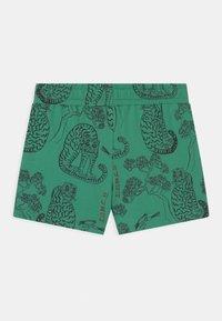 Mini Rodini - TIGERS UNISEX - Shorts - green - 1