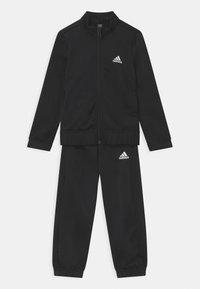 adidas Performance - SET - Tepláková souprava - black/white - 0