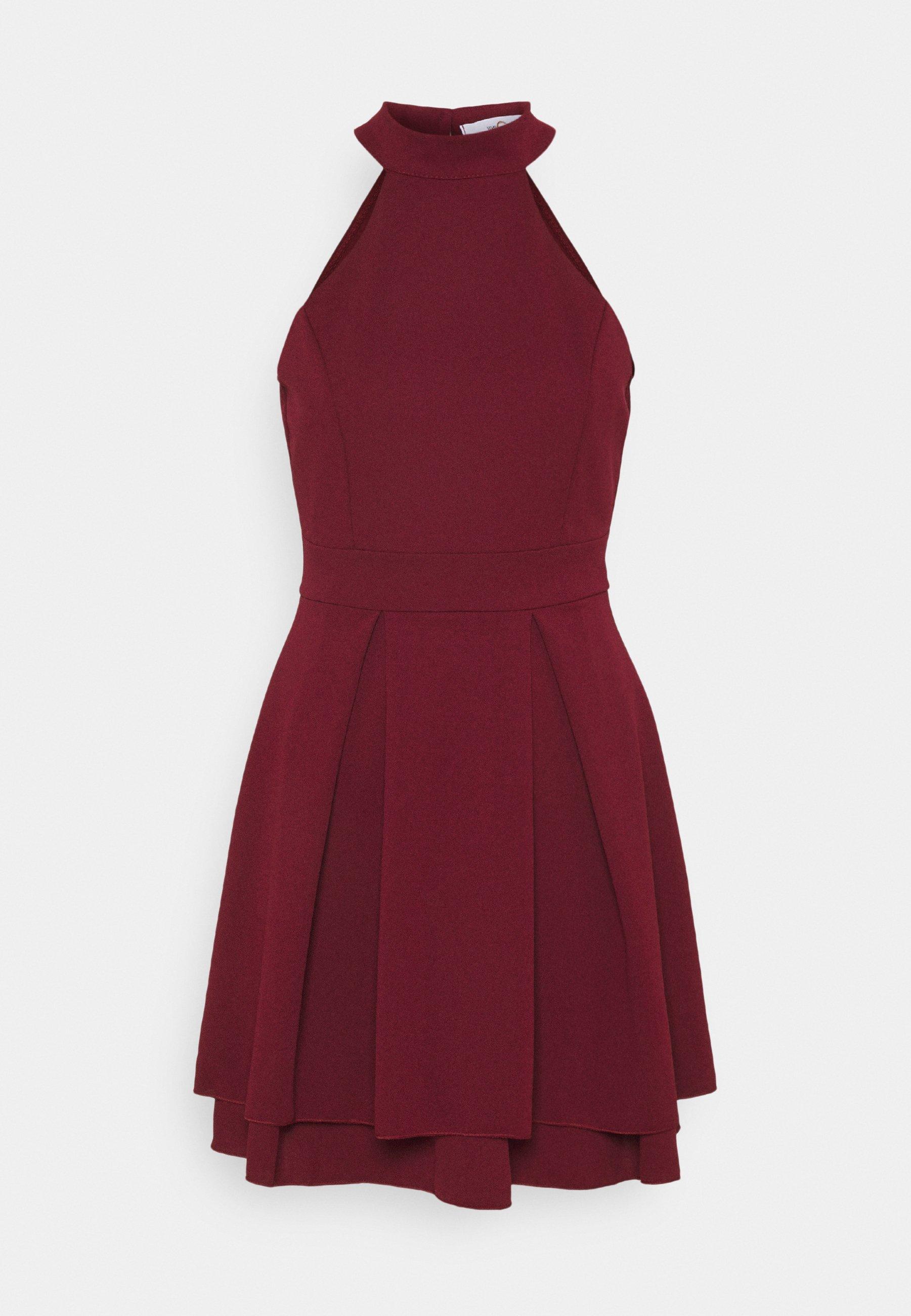 Damen CHERYL HALTER NECK SKATER DRESS - Jerseykleid