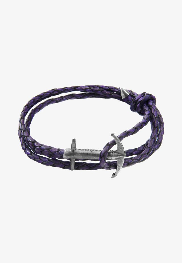 ADMIRAL ANCHOR - Armbånd - purple