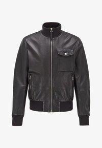BOSS - MATEK - Leather jacket - black - 5