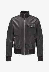 MATEK - Leather jacket - black