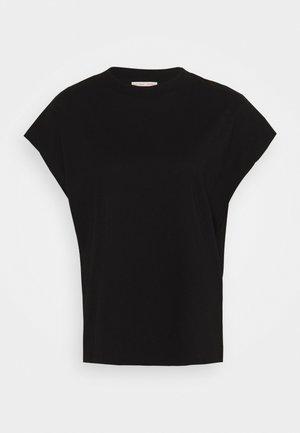 CREW NECK  - T-shirts - black