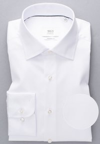 Eterna - FITTED WAIST - Formal shirt - white - 4