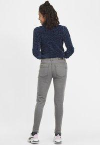 Oxmo - Irabelle - Slim fit jeans - grey denim - 2