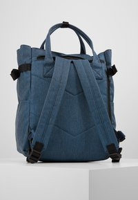 anello - OPEN TOTE BACKPACK - Reppu - navy - 3