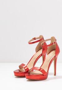 ALDO - MADALENE - High heeled sandals - other red - 4
