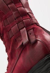 A.S.98 - Kovbojské/motorkářské boty - cardinal - 2