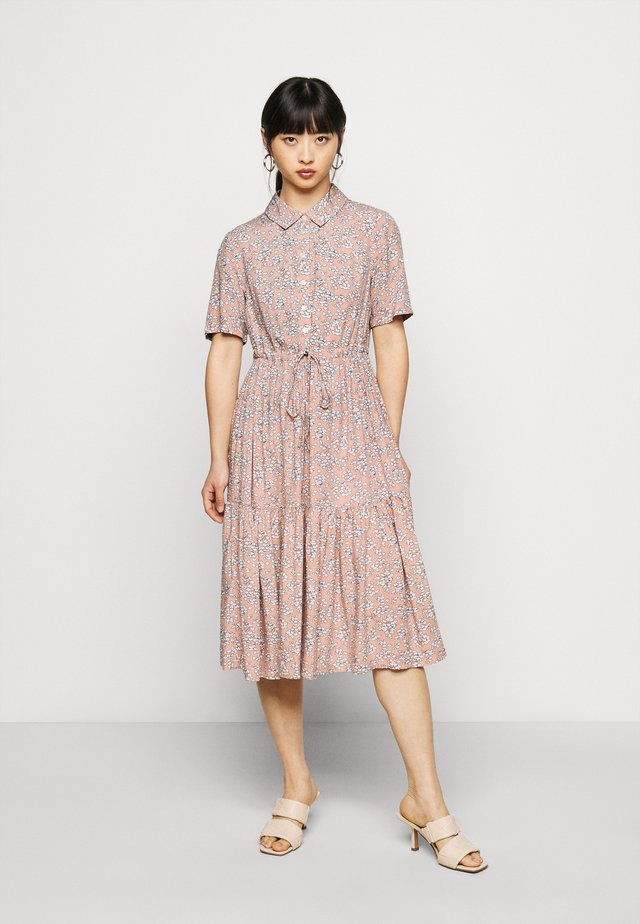 PCMIE MIDI DRESS  - Vestito estivo - misty rose flowers
