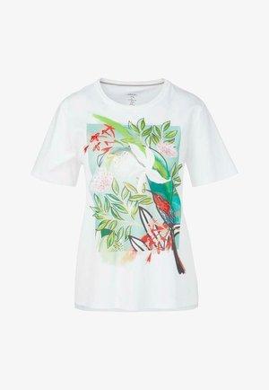 Print T-shirt - wild lime