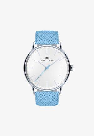 UHR SERENITY SKY BLUE SILVER SKY BLUE PERLON 40MM - Horloge - sky blue