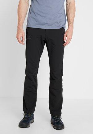 WAYFARER WARM STRAIGHT PANT  - Trousers - black
