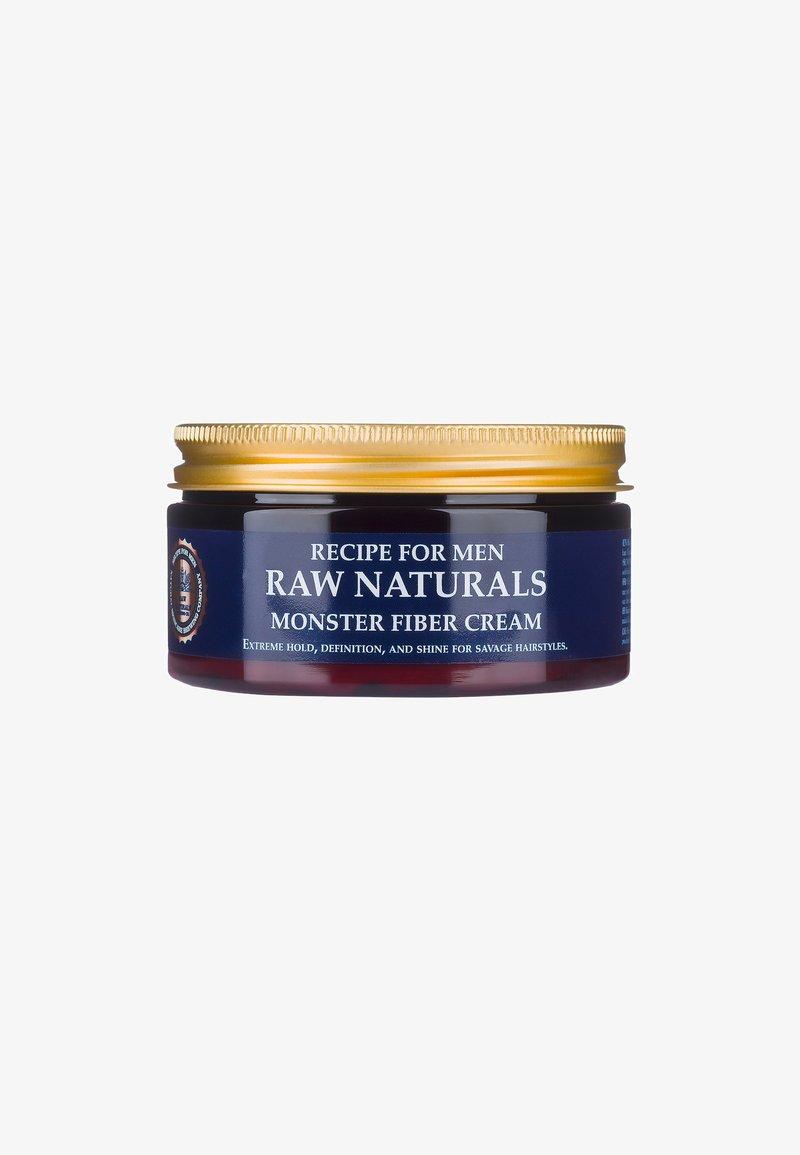 Raw Naturals - MONSTER FIBER CREAM - Hair styling - -