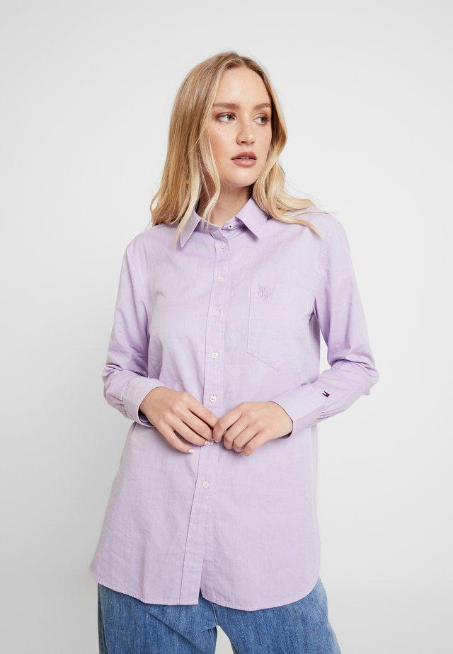 DELLA - Button-down blouse - dusty lilac