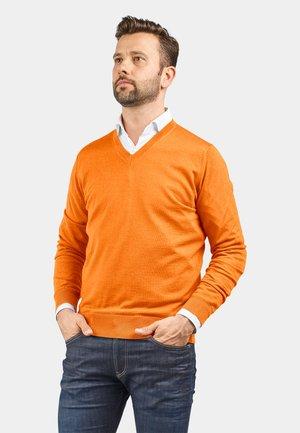 MERINO EXTRAFEIN - Jumper - orange