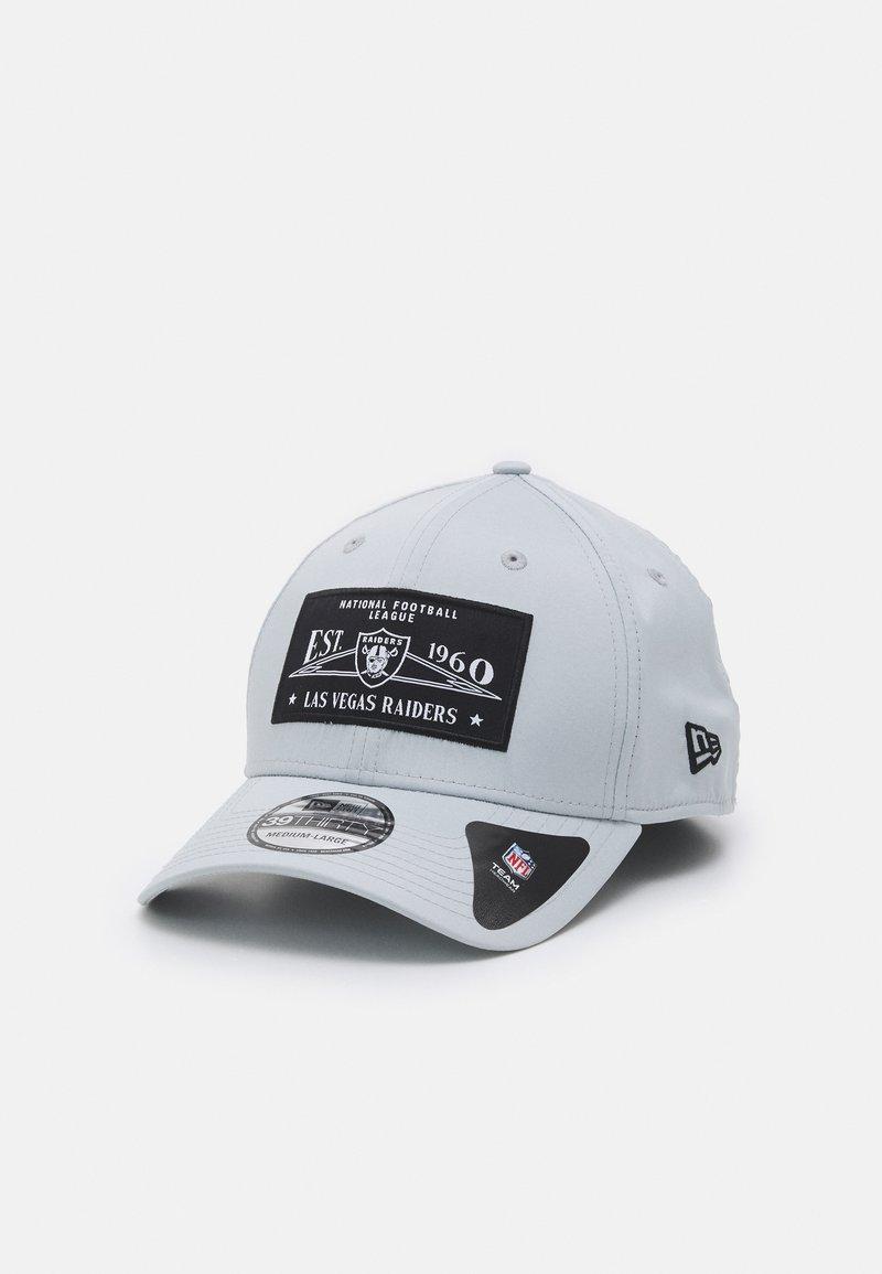 New Era - TEAM PATCH 39THIRTY UNISEX - Cappellino - light grey