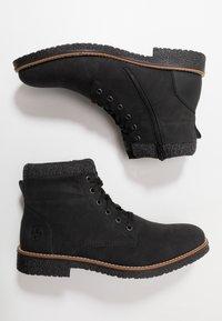 Rieker - Lace-up ankle boots - schwarz/granit - 1