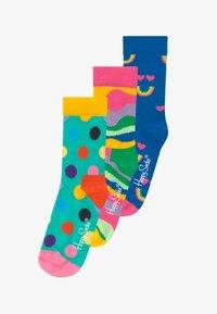 Happy Socks - KIDS RAINBOW SMILE DOT 3 PACK - Socks - multi-coloured - 2