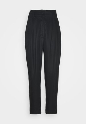 SADIE TROUSERS - Bukser - black dark test for store