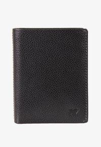 Braun Büffel - MIT NARBENSTRUKTUR - Wallet - black - 0