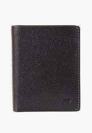 MIT NARBENSTRUKTUR - Wallet - black