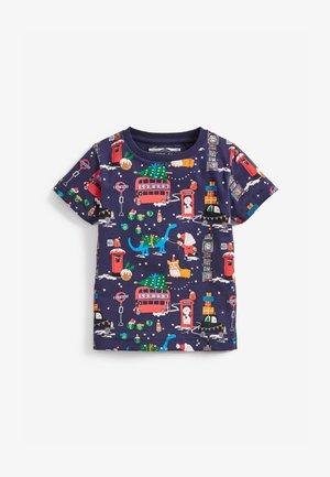 CHRISTMAS  - T-shirt imprimé - blue