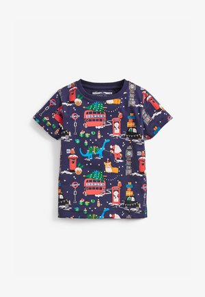 CHRISTMAS  - Print T-shirt - blue
